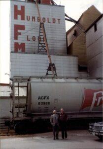 Humboldt Flour Mills elevator
