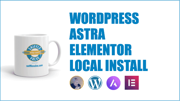 wordpress astra elementor tutorial