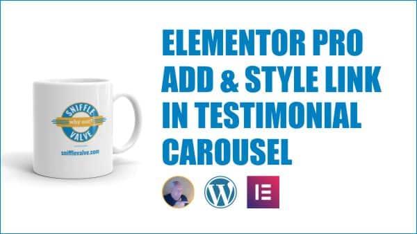 elementor pro style testimonial carousel