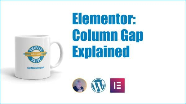 Elementor column gap explained graphic